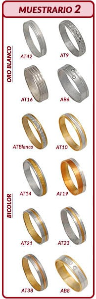 c1a0a0efb11b alianzas oro plata alianzas oro plata ...