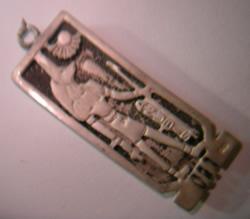 cartucho egipcio oro plata