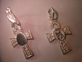 cruces egipcias de la vida oro plata