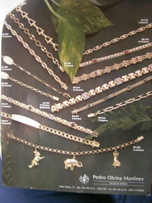 catalogo de joyeria oro y plata