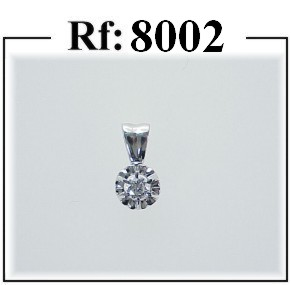 colgante diamantes joyas madrid