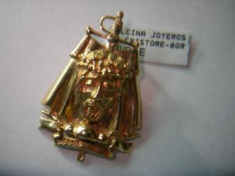 cristo torero oro plata
