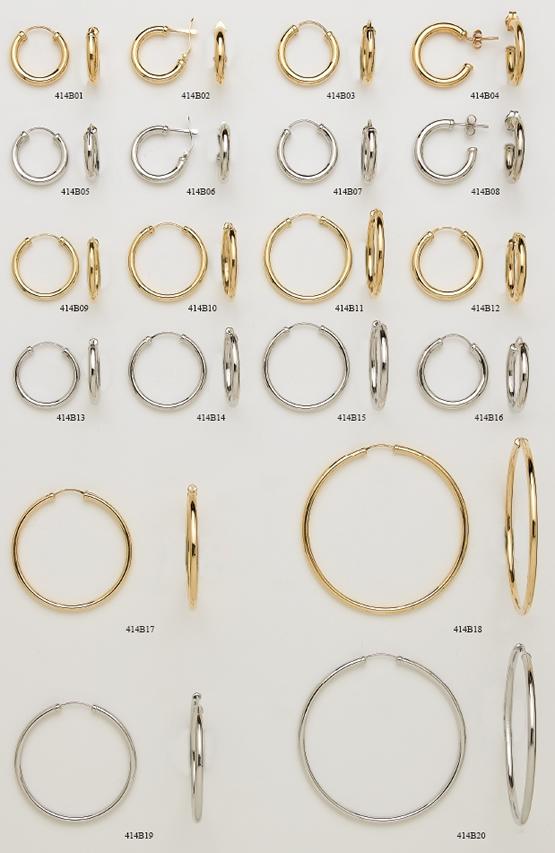 criollas aros oro plata