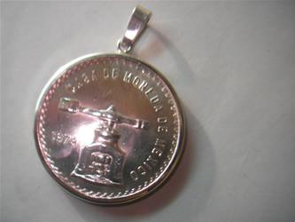 moneda oro plata