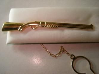 alfiler corbata oro plata