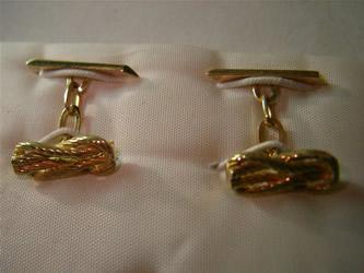 gemelos oro plata