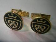gemelos personalizados oro plata