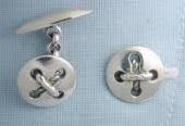 gemelos boton