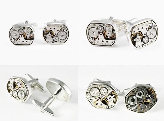 gemelos maquinaria reloj