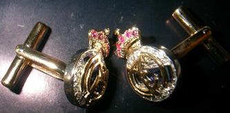 gemelos personalizados oro plata madrid