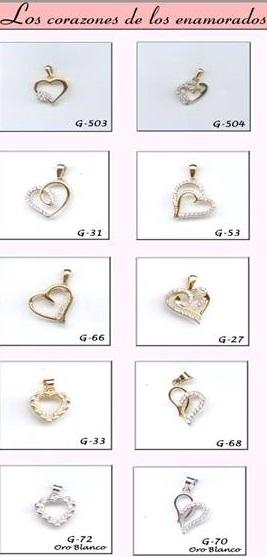 1152f1a389d8 Joyas Enamorados, Joyeria, Parejas, Regalos, San Valentin, Oro ...