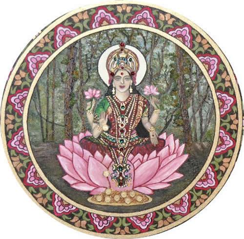 mandala El Poder de la Diosa de la Prosperidad