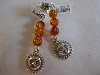 joyas plata ambar