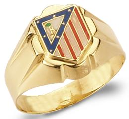 sello atleti oro