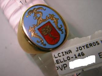 sello escudo heraldico oro plata