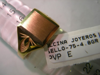 sellos oro plata