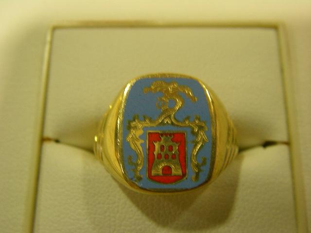 Sellos escudo heraldico oro plata