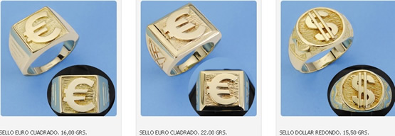 sellos dolar euro