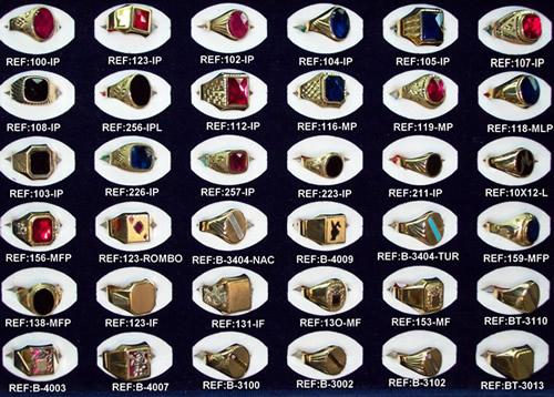 sellos solitarios oro joyas madrid